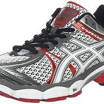 Asics Mens Gel-Flux Running Shoes Snow/white/red Pepper Us 8 Uk7 Eur 41.5 26cm Photo
