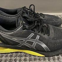 Asics Mens Gel Nimbus 21 Sz 10.5 M Running Athletic Jogging Shoes Black Yellow Photo
