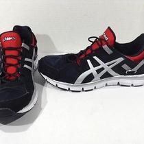 Asics Mens Gel Syntheses Black Walk Running Training Shoes Size 10.5 Z6-656 1o Photo
