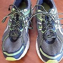 Asics Mens Gt 1000 Athletic Running Shoes Black Synthetic Us 11.5 M Eu 46 Photo