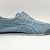 Asics Onitsuka Tiger Sky Blue Athletic Low Top Slip on Sneakers Shoes Mens 9 Photo