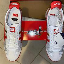 Asics Onitsuka Tiger Street Fighter Chun Li Shoes Sneakers Red Nib Size 10 Men Photo