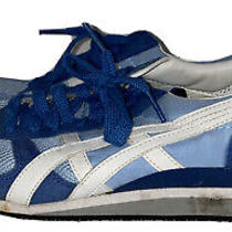 Asics Onitsuka Tiger Ultimate 1981 Womens Athletic Shoes Size 8 Hn567 Blue Photo