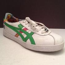Asics Onitsuka Tiger Women's Sneakers - Size 8.5 - White & Green Photo