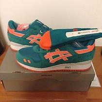Asics Ronnie Fieg Kith Gel Lyte 3 Ecp Miami Dolphins Size 11.5 Photo
