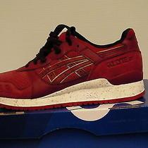 Asics Running Shoes Gel-Lyte Iii Size 8 Us Men Burgundy/burgundy New With Box  Photo