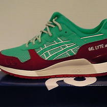 Asics Running Shoes Gel-Lyte Iii Size 8 Us Men Spectra Green New With Box  Photo