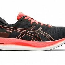 Asics Running Shoes Glideride Tokyo 1011b073 Black/sunrise Red Photo