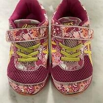 Asics Size 9 Girls Previously Worn Athletic Gym Shoes K9 Photo