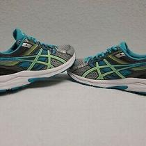 Asics T5f9n Blue Green Gel-Contend 3 Womens Running Athletic Shoe Size 8 Photo