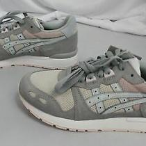 Asics Unisex Gel-Lyte Casual Sneakers Jq2 Grey/pink H8bvk-0043 Size M6 w7.5 Photo