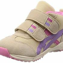 Asics Vigorously Baby Shoes gd.runner Baby Ms-Mid Tub127 Beige / Lavender 13.5 Photo