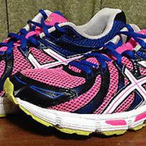 Asics Women's 9.5 Gel Exalt Pink Blue Running Shoes T379n 341 Photo