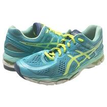 Asics Womens Gel-Kayano 22 Running Sneakers Shoes Size 8.5 Photo