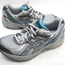 Asics Women's Gel-Maverick 3 Running Shoe Silver/lightning/aqua Size 8 Eur 39.5 Photo