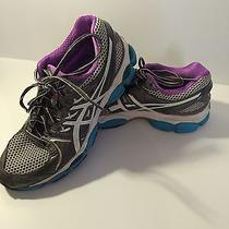 Asics Women's Gel Nimbus 14 Lightning Blue Running Shoes Sz 9 Free Sh Photo