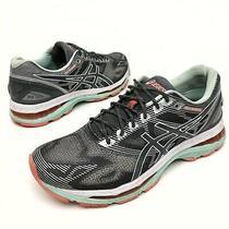 Asics Women's Gel-Nimbus 19 9 eu40.5 Grey Silver /teal Running Shoes T750n Photo