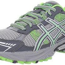 Asics Women's Gel-Venture 4 Running Shoe Charcoal/frost/green 7.5 b(m) Us Photo