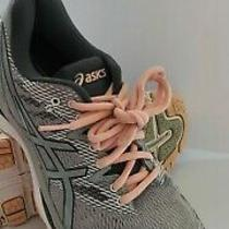 Asics Womens Gray/pink Gel Nimbus 20 Running Shoes Sneakers Size 8 T850n Photo