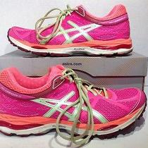 Asics Women's Size 10 Gel Cumulus 17 Pink Coral Running Shoes Sneakers Zg-638 Photo