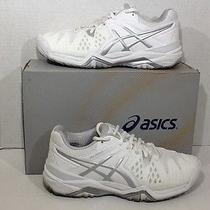 Asics Women's Size 6 Gel Resolution 6 White Running Sneakers Shoes Zh-125 Photo