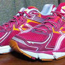 Asics Women's Size 9 Gt 1000 Pink Orange Mesh Running Shoes T3r5n-2130 288  Photo