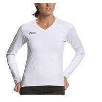 Asics Women's Taras Running Jersey White Xx-Large Photo