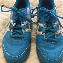 Asics Womens 7 M Turquoise Gel Athletic Shoes Great Condition Photo