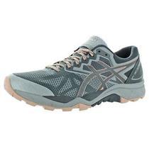 Asics Womens Gel-Fuji Trabuco 6 Gray Running Shoes 5 Medium (Bm) Bhfo 2222 Photo