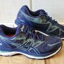 Asics Womens Gel Nimbus 20 T850n Blue Navy Running Shoes Size 8 Photo