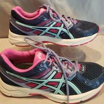 Asics Womens Gel-Venture 3 Running Shoes A661012 Fy  Pink/navy/teal Size 8 Photo