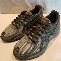 Asics Womens Gel-Venture 6 Gray Running Shoes Size 5.5 (916873) Photo