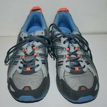 Asics Womens Gray/blue Gel-Venture 5 Athletic Sneakers Shoes T5n8n  Size 11 Euc Photo