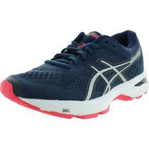 Asics Womens Gt-1000 6 Navy Running Shoes Sneakers 6 Wide (Cdw) Bhfo 1245 Photo
