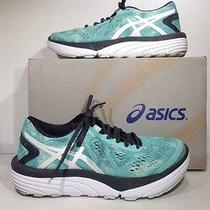 Asics Womens Size 6 33-M 2 Blue White Iron Running Sneakers Shoes Zc-1140 Photo