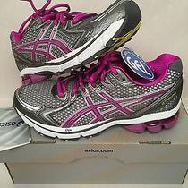 Asics Womens Sneakers Running Training Shoes Gel Nib New 6 Photo