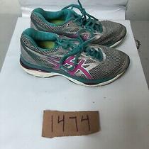 Asics Womens T6c8n-9320 Gel-Cumulus 18 Running Shoes-Sneakers -Silver/pink 7.5 Photo