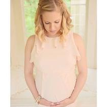 Asos Blush Pink Maternity Dress Photo