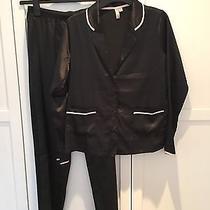 Asos Christy Satin Long Leg Pajama Set Uk 10 Rrp 29.00 Photo