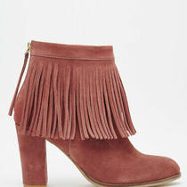 Asos Evette Blush Suede Ankle Boots Photo