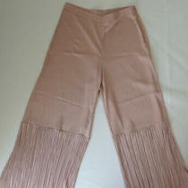 Asos High Waist Blush Pink. Size 6 Pant Photo