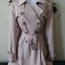 Asos Mac Trench Coat Blush Pink 6 Sold Out Nwt Photo