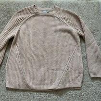 Asos Womens Chunky Knit Sweater Pale Blush Pink 6 Photo