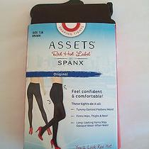 Assets Red Hot Label by Spanx Size 1a Shaping Tights Brown Nwt Free Shipping Photo