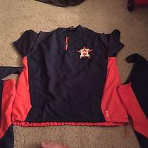 Astros Batting Jacket Game Used by Minor League Coach  Photo