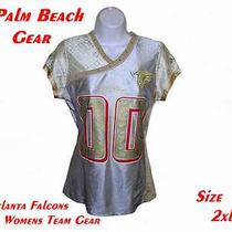 Atlanta Falcons Womens Nfl Fashion Jersey....2xl.....stylish-Alternate Team Gear Photo