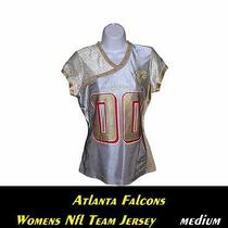 Atlanta Falcons Womens Nfl Fashion Jersey...medium...stylish-Alternate Team Gear Photo