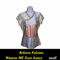 Atlanta Falcons Womens Nfl Fashion Jersey..small...stylish-Alternate Team Gear Photo