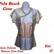 Atlanta Falcons Womens Nfl Fashion Jersey.....xl.....stylish-Alternate Team Gear Photo