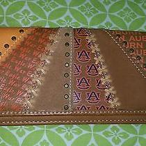Auburn Football Fossil Leather Wallet War Eagle Photo